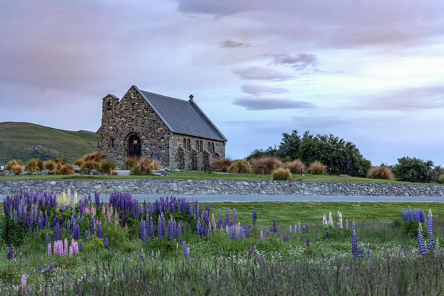 Church Of The Good Shepherd Photograph - Tekapo - New Zealand by Joana Kruse