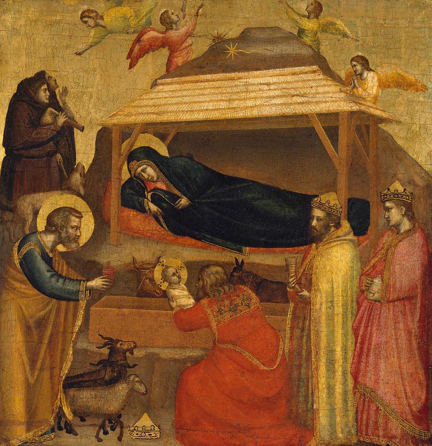 The Adoration of the Magi by Giotto di Bondone