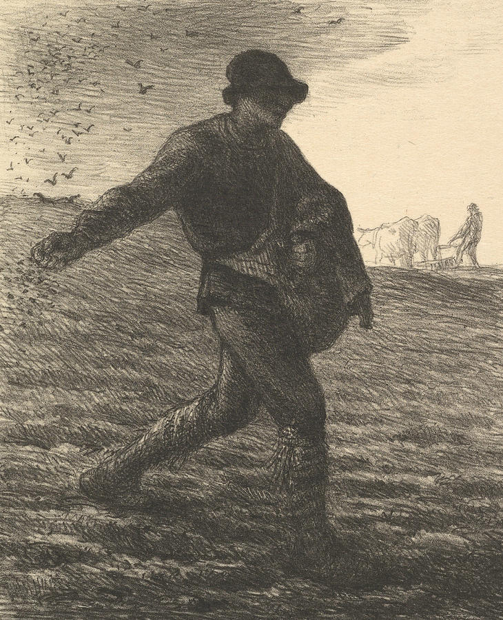 The Sower by Jean-Francois Millet