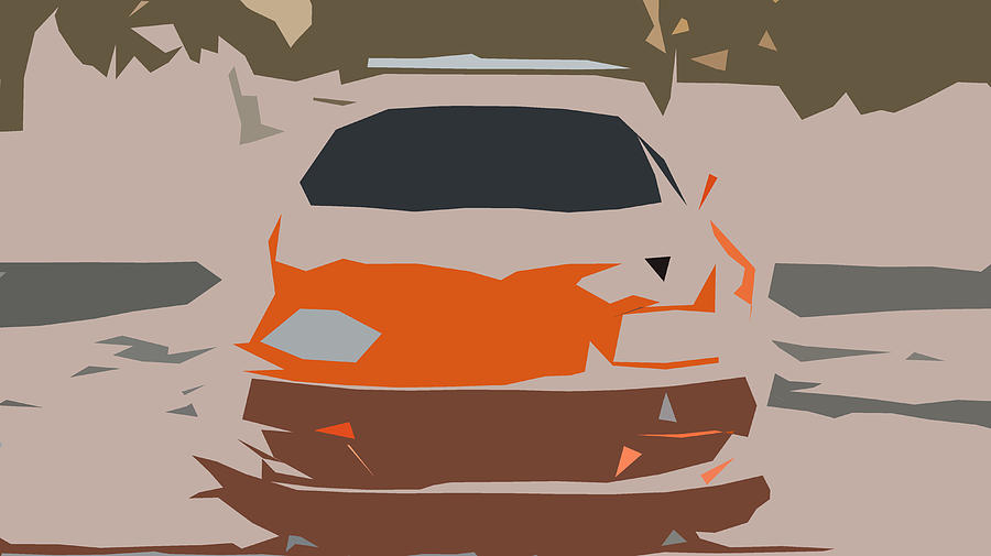 Toyota Supra The Fast And The Furious Abstract Design ...
