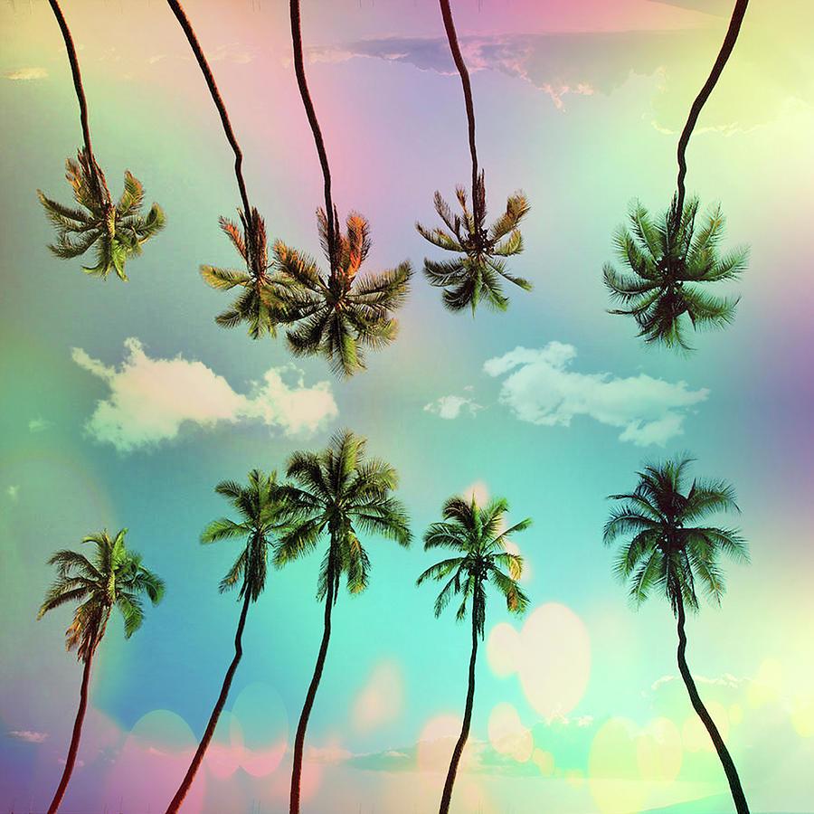 Seasonal Mixed Media - Tropical by Mark Ashkenazi