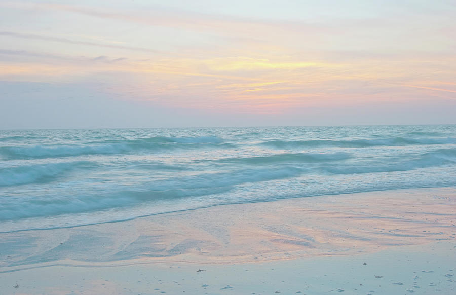 Crescent Beach Photograph - Usa, Florida, Sarasota by Bernard Friel