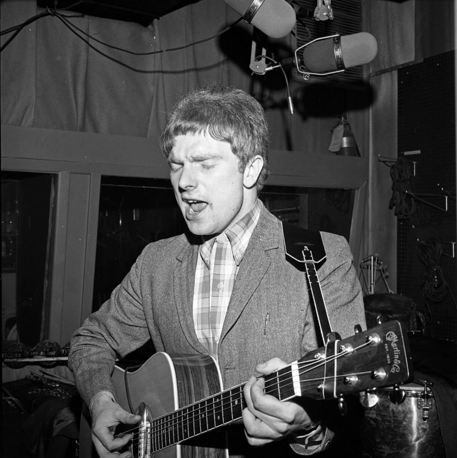 Event Photograph - Van Morrison Bang Records Session by Donaldson Collection