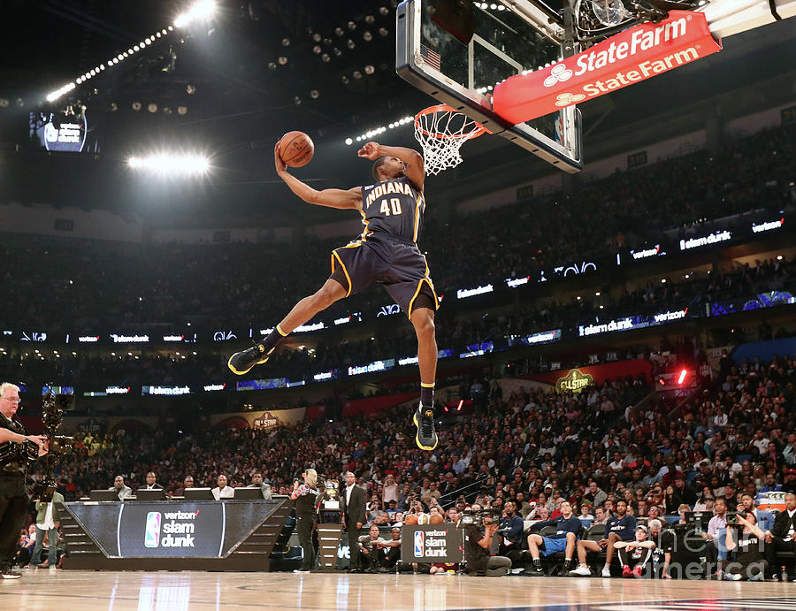 Verizon Slam Dunk Contest 2017 Photograph by Nathaniel S. Butler
