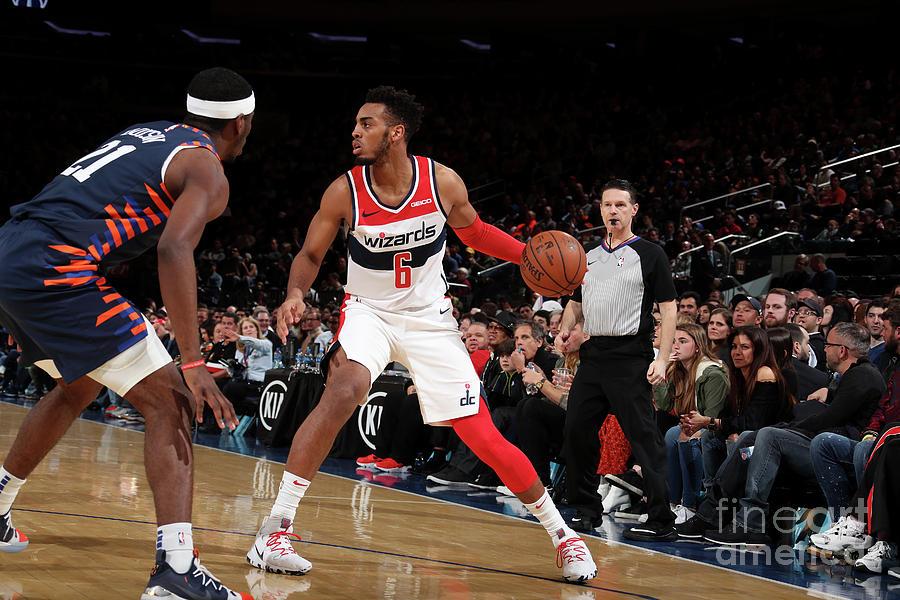 Washington Wizards V New York Knicks Photograph by Nathaniel S. Butler