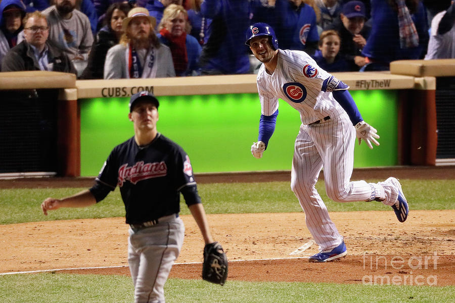 World Series - Cleveland Indians V Photograph by Jamie Squire