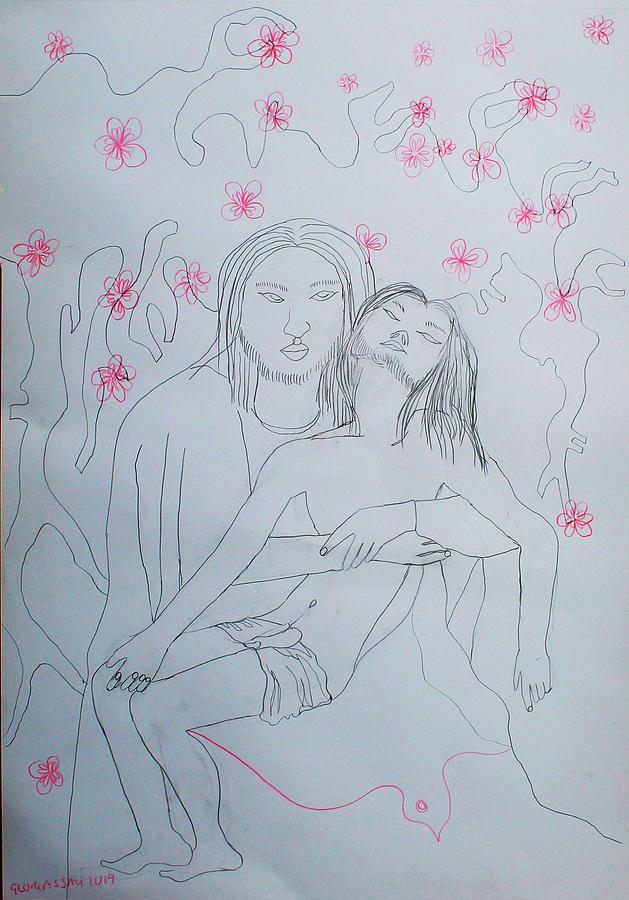 Pieta by Gloria Ssali