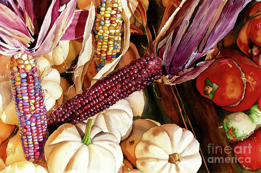 #411 Flint Corn by William Lum