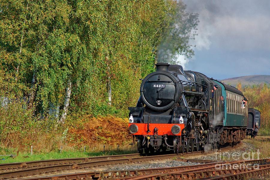 44871 Autumn Steam by David Birchall