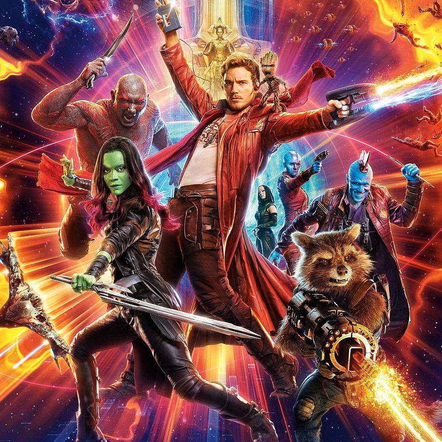Guardians Of The Galaxy Digital Art - Guardians Of The Galaxy by Geek N Rock