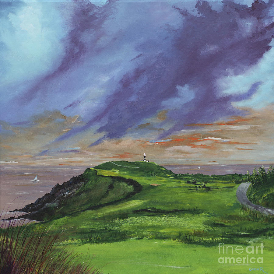 4th hole Kinsale golf links by Conor Murphy