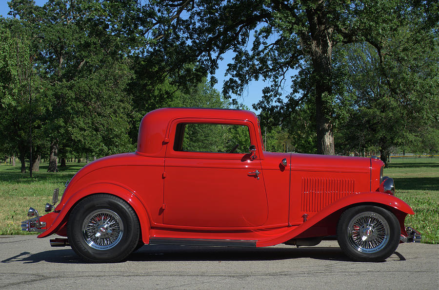 1932 Ford Coupe Hot Rod by Tim McCullough