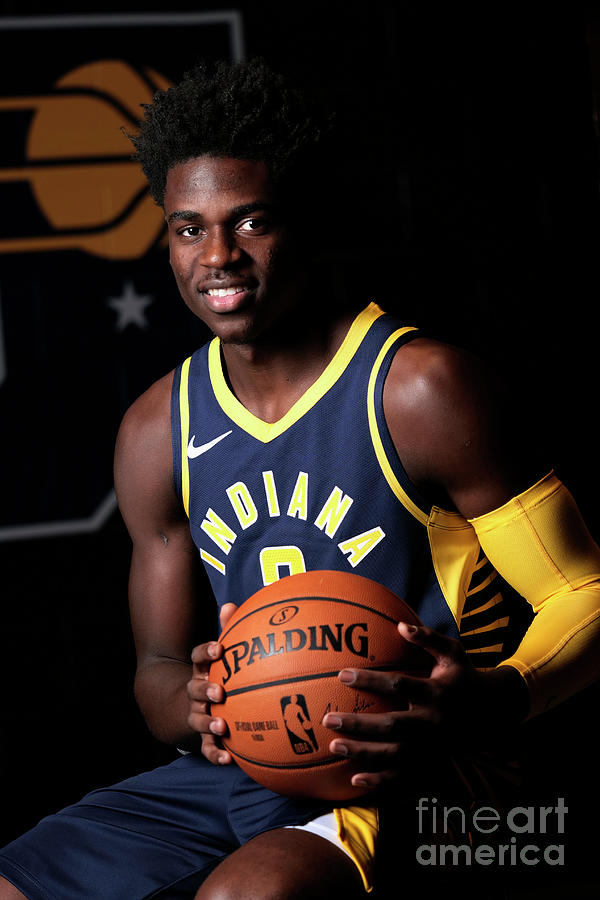 2018-19 Indiana Pacers Media Day Photograph by Ron Hoskins