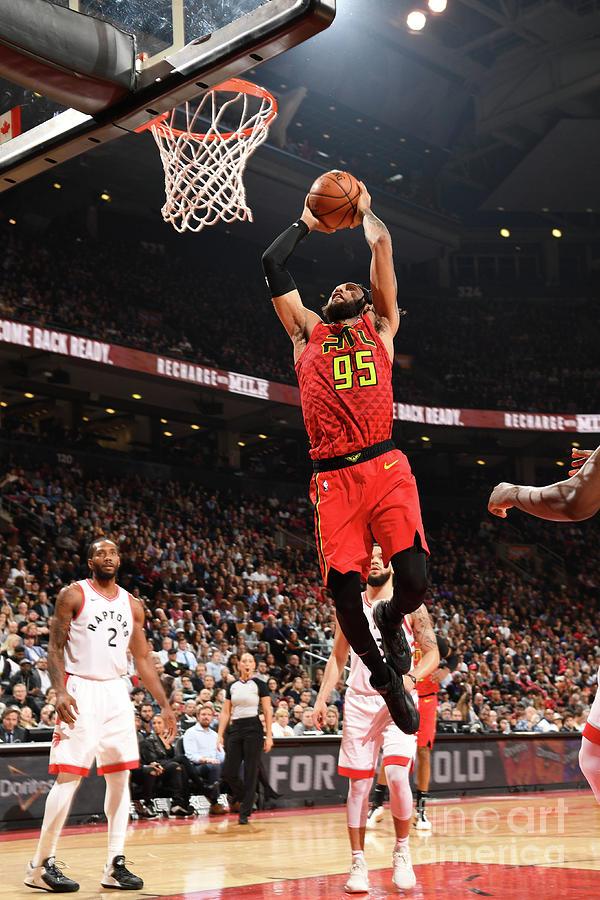 Atlanta Hawks V Toronto Raptors Photograph by Ron Turenne