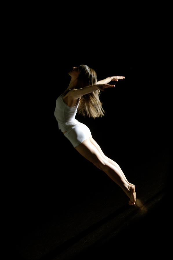 Ballet And Contemporary Dancers Photograph by John Rensten