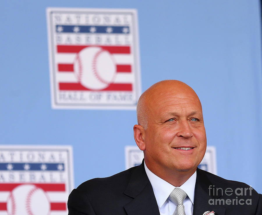Baseball Hall Of Fame Induction Ceremony Photograph by Elsa