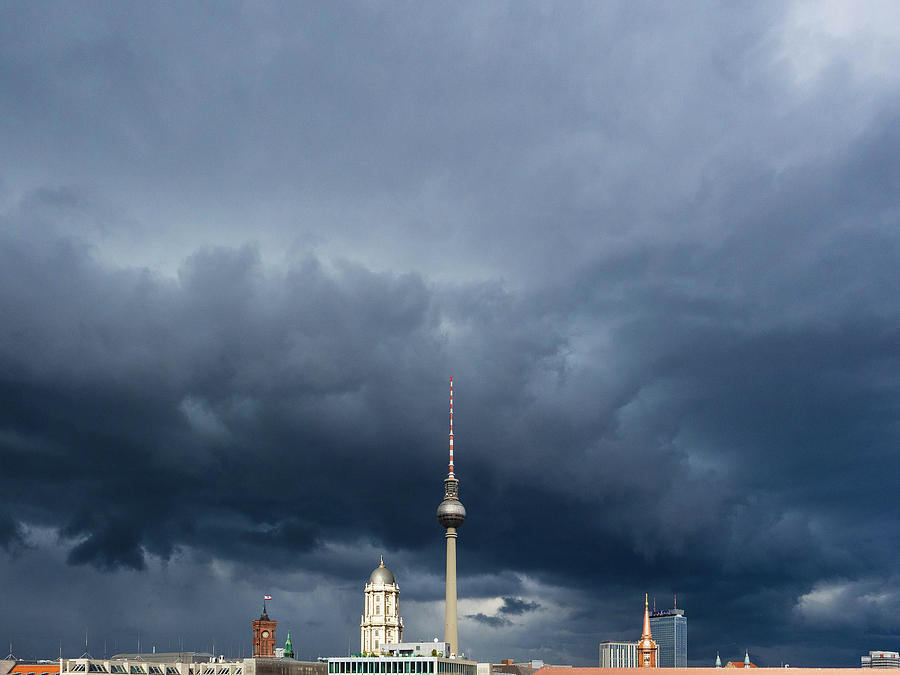 Berlin Skies by Aurica Voss