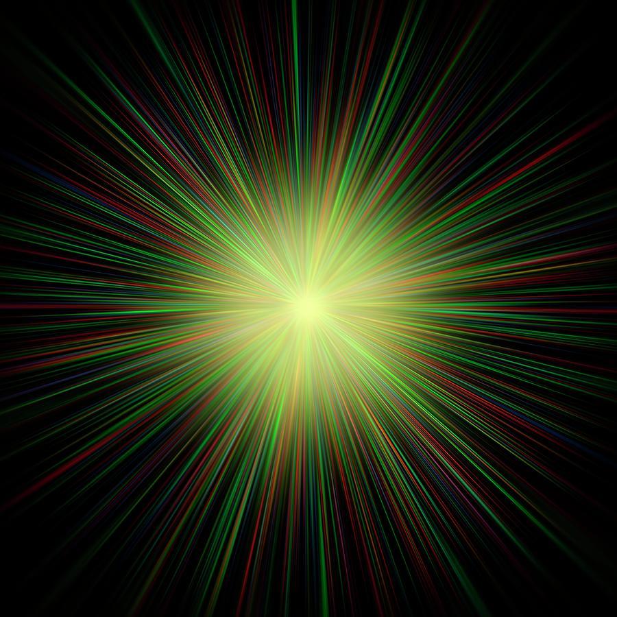 Big Bang, Conceptual Artwork Digital Art by Laguna Design