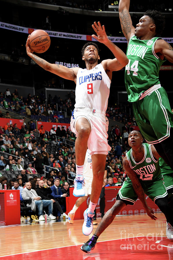 Boston Celtics V La Clippers Photograph by Andrew D. Bernstein
