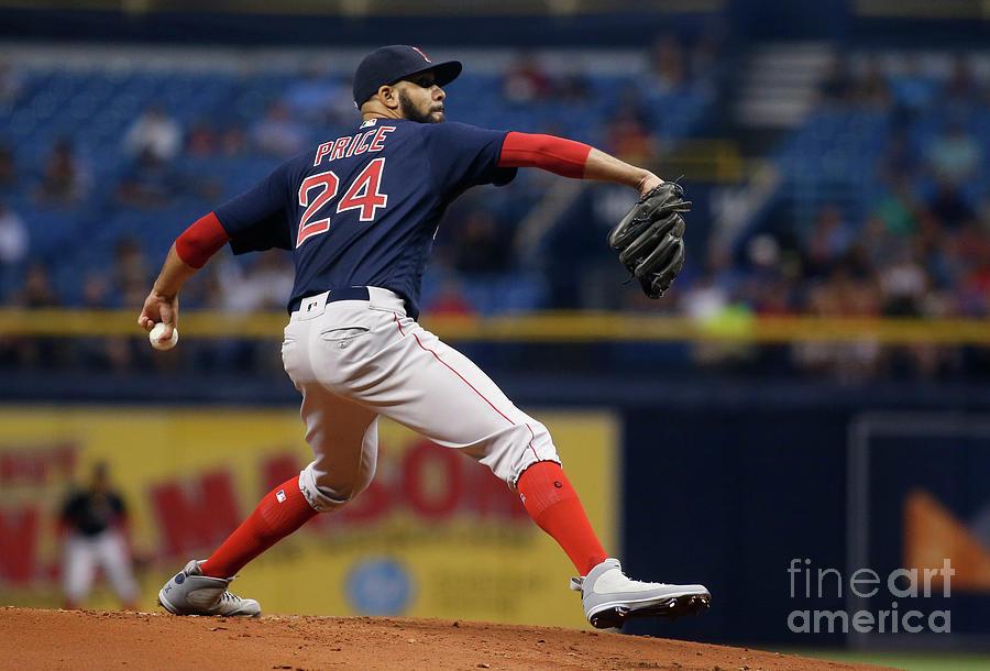 Boston Red Sox V Tampa Bay Rays Photograph by Brian Blanco