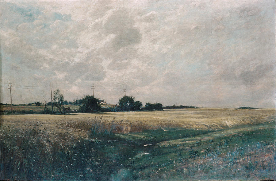 Broad Acres Painting - Broad Acres  by Edward Gay