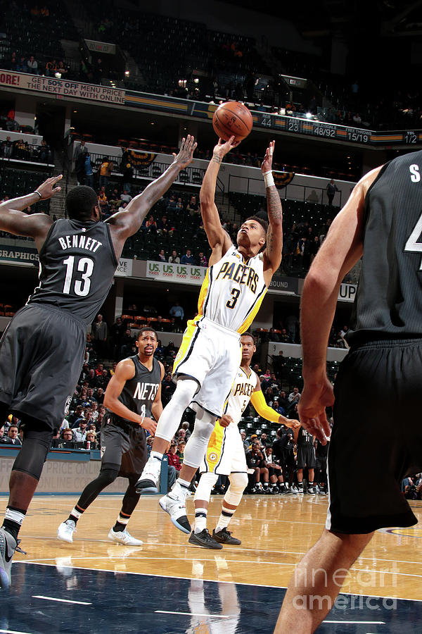 Brooklyn Nets V Indiana Pacers Photograph by Ron Hoskins