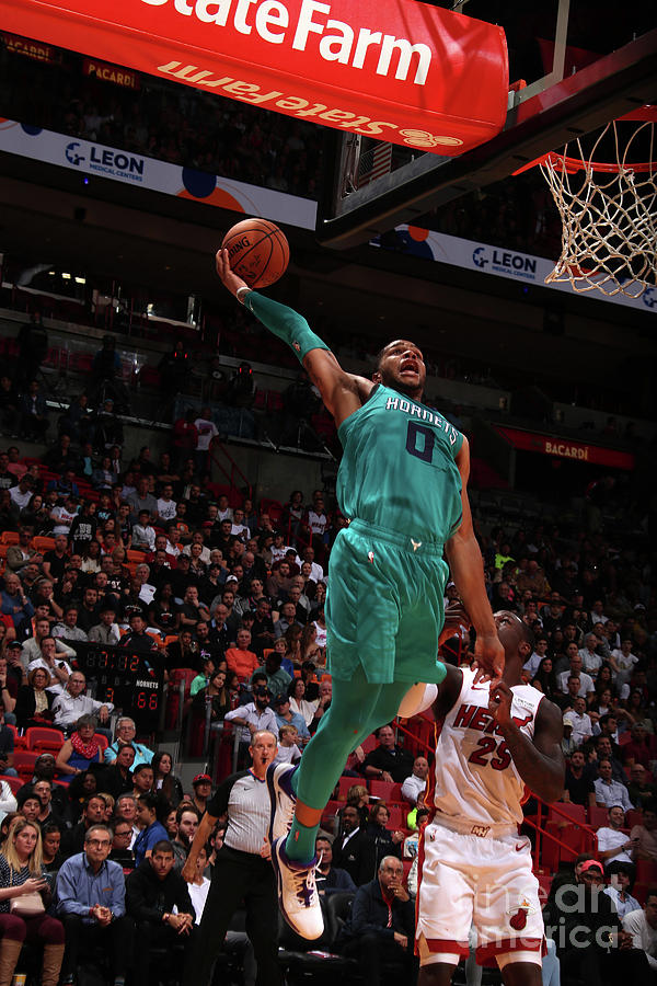 Charlotte Hornets V Miami Heat Photograph by Issac Baldizon