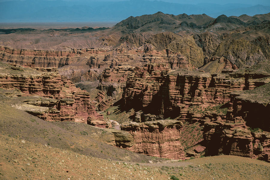 Charyn canyon in kazachstan and the valley of castles  by Kim Vermaat