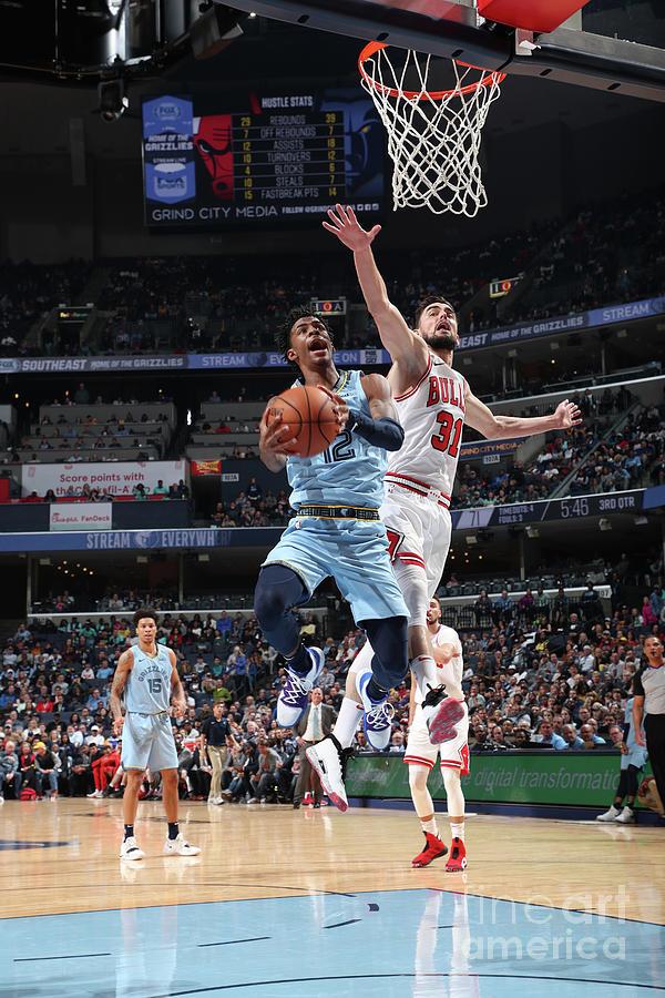 Chicago Bulls V Memphis Grizzlies Photograph by Joe Murphy