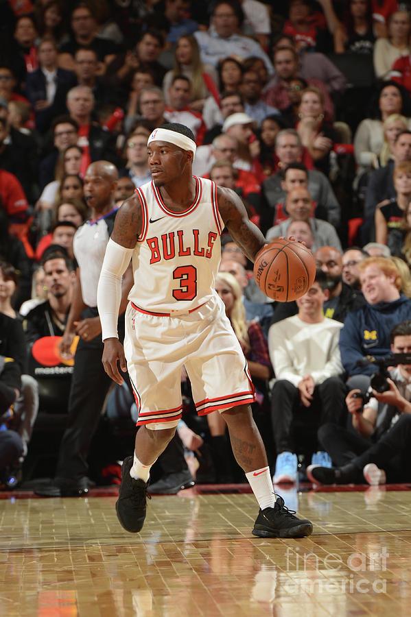 Chicago Bulls V Toronto Raptors Photograph by Ron Turenne