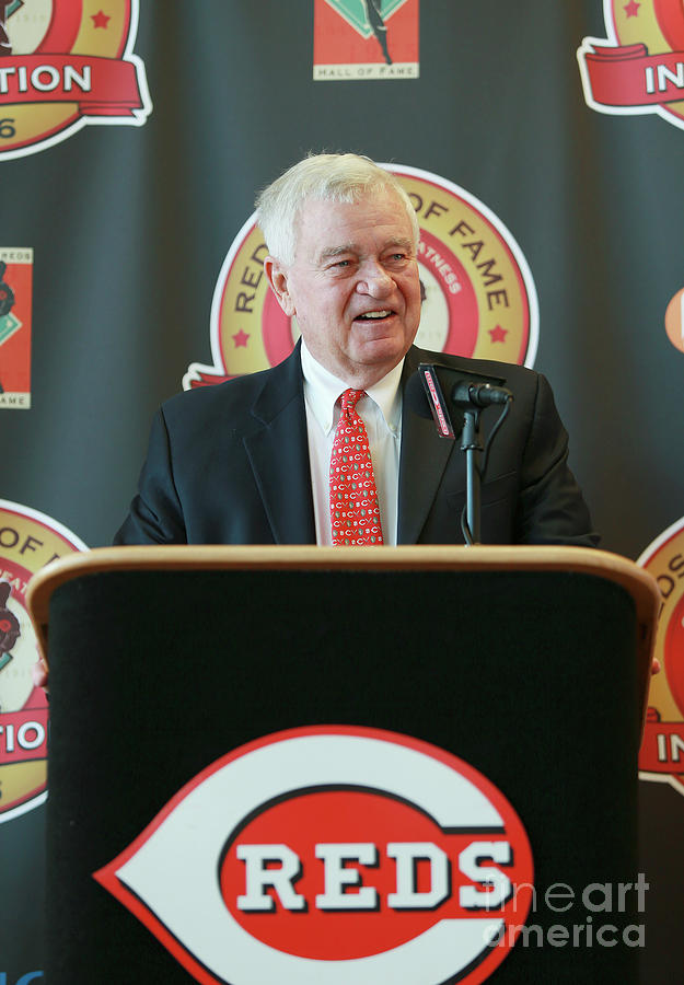 Cincinnati Reds Hall Of Fame News Photograph by Mark Lyons