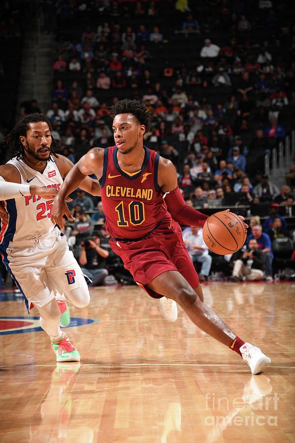 Cleveland Cavaliers V Detroit Pistons Photograph by Chris Schwegler