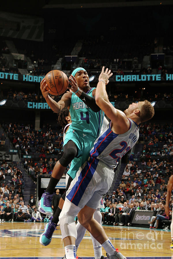 Detroit Pistons V Charlotte Hornets Photograph by Brock Williams-smith