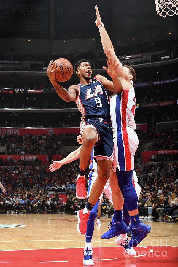 Detroit Pistons V La Clippers Photograph by Andrew D. Bernstein