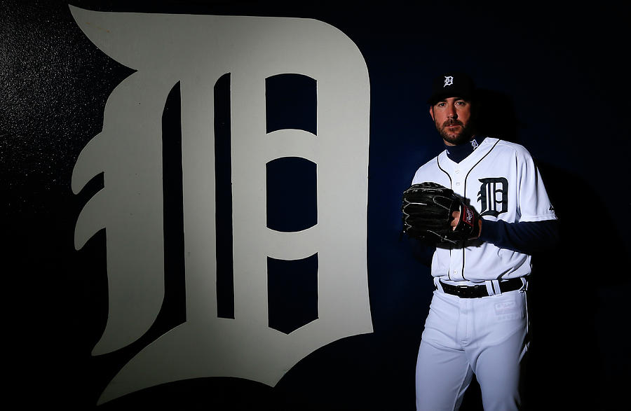 Detroit Tigers Photo Day 5 Photograph by Kevin C. Cox