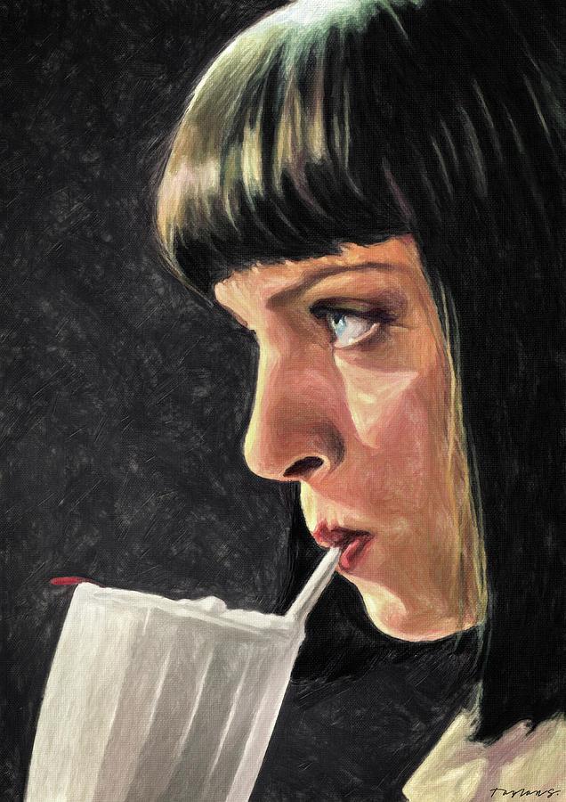 5 Dollar Milkshake Painting