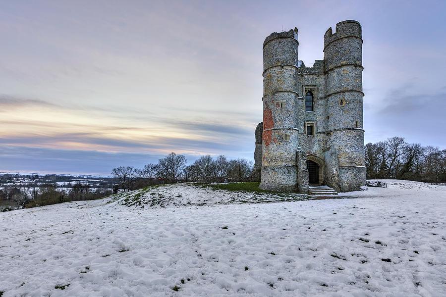 Donnington Castle Photograph - Donnington Castle - England by Joana Kruse