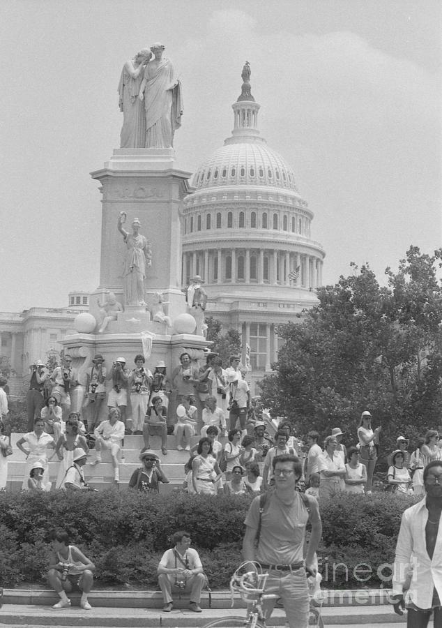 Equal Rights Amendment March On Congress Photograph by Bettmann