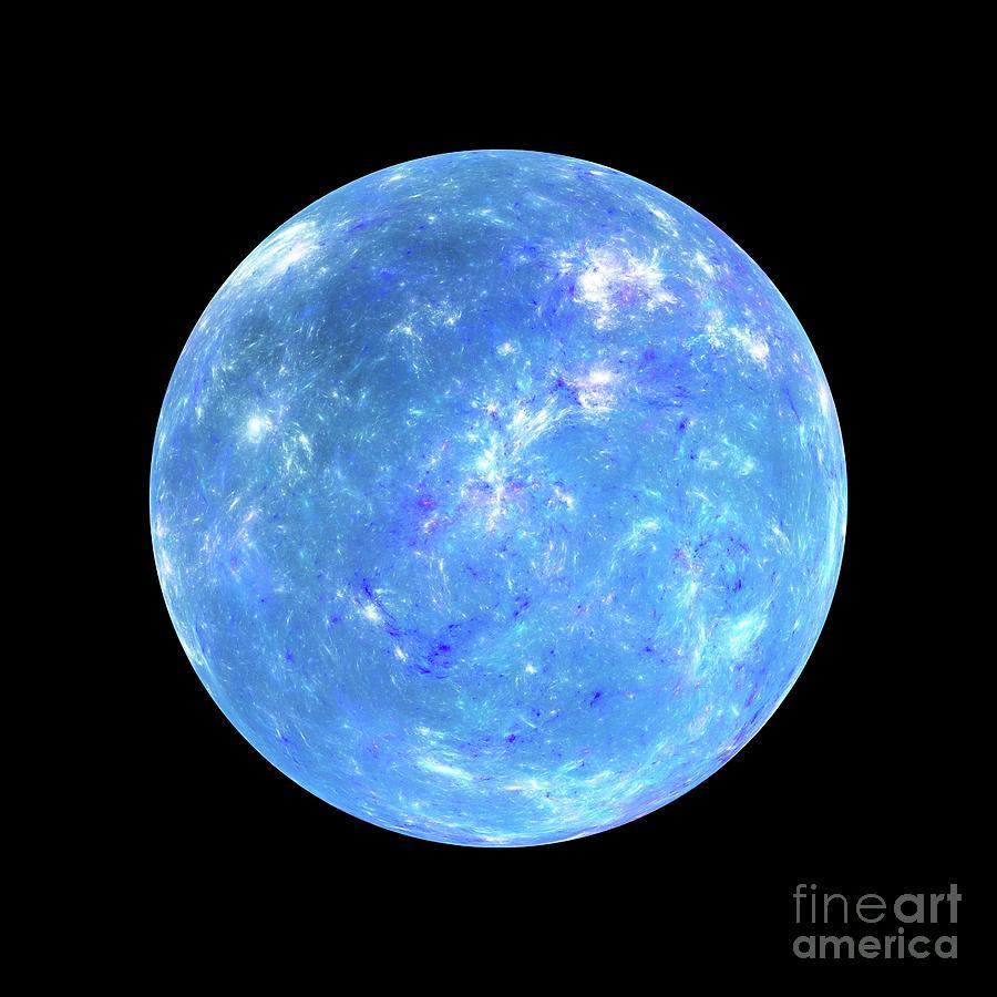 World Photograph - Exoplanet by Sakkmesterke/science Photo Library