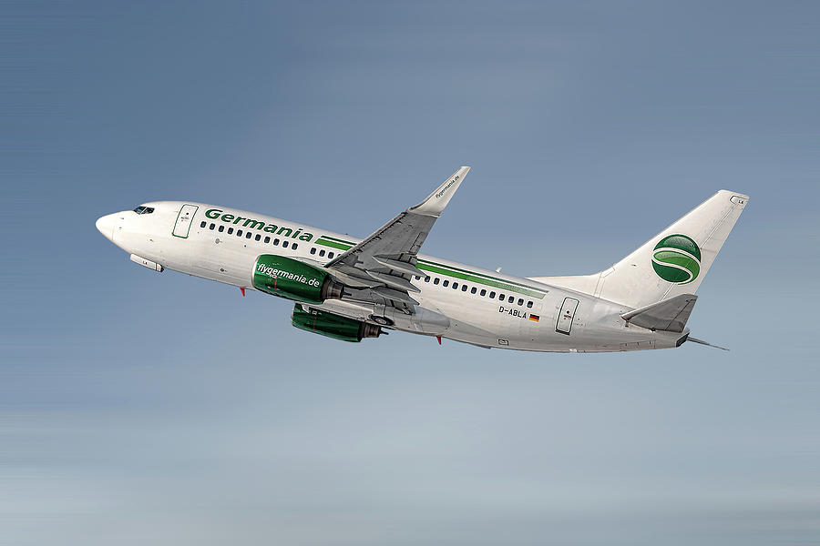 Germania Mixed Media - Germania Boeing 737-76j by Smart Aviation