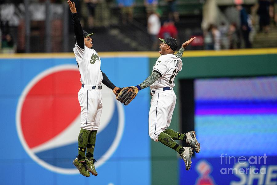 Houston Astros V Cleveland Indians Photograph by Jason Miller