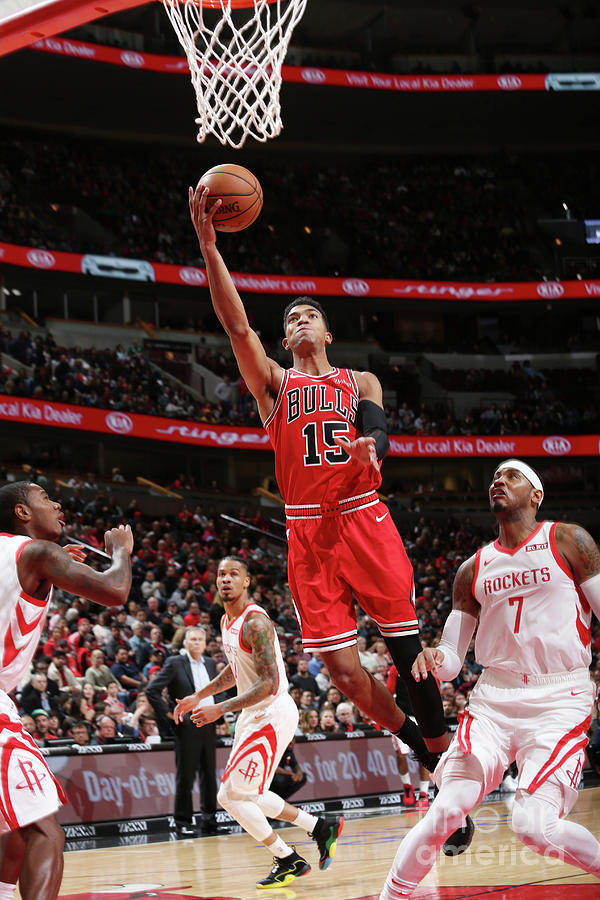 Houston Rockets V Chicago Bulls Photograph by Gary Dineen