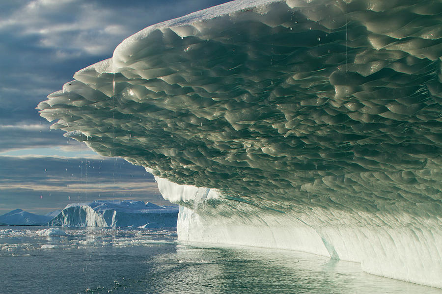 Icebergs, Disko Bay, Greenland Photograph by Paul Souders