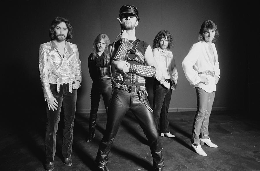 Judas Priest Photograph by Fin Costello