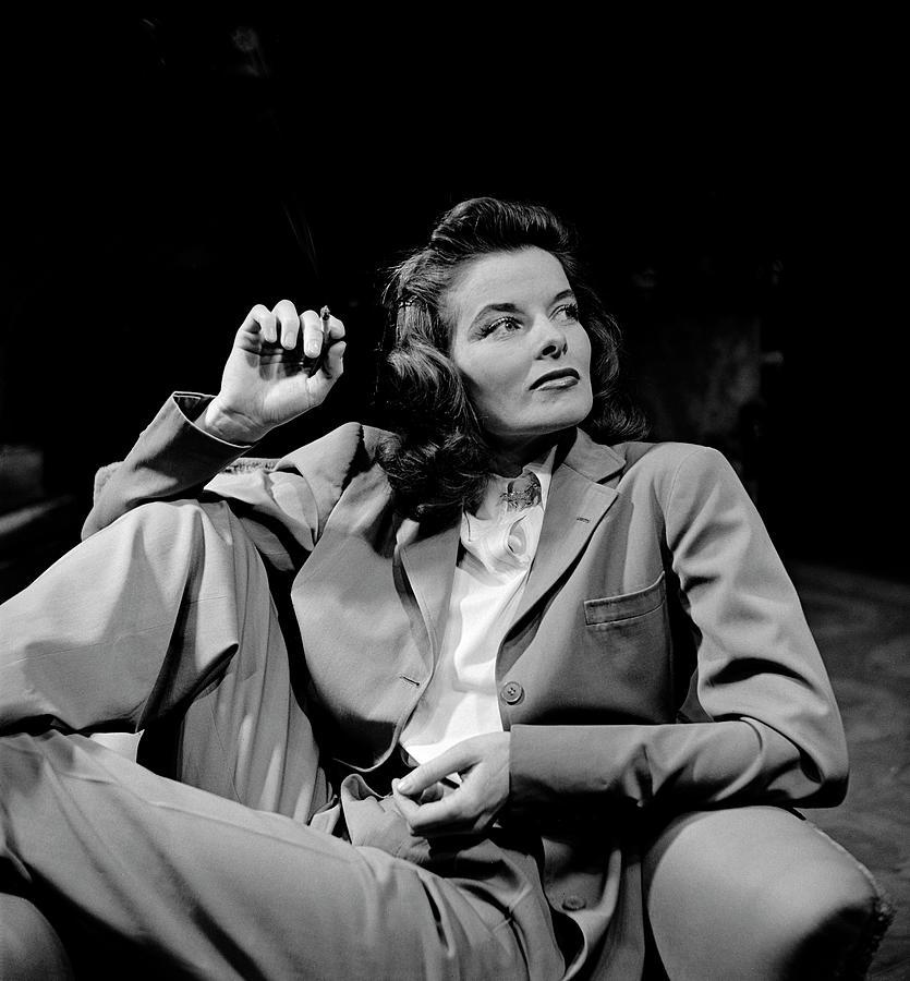 Katharine Hepburn Photograph by Alfred Eisenstaedt
