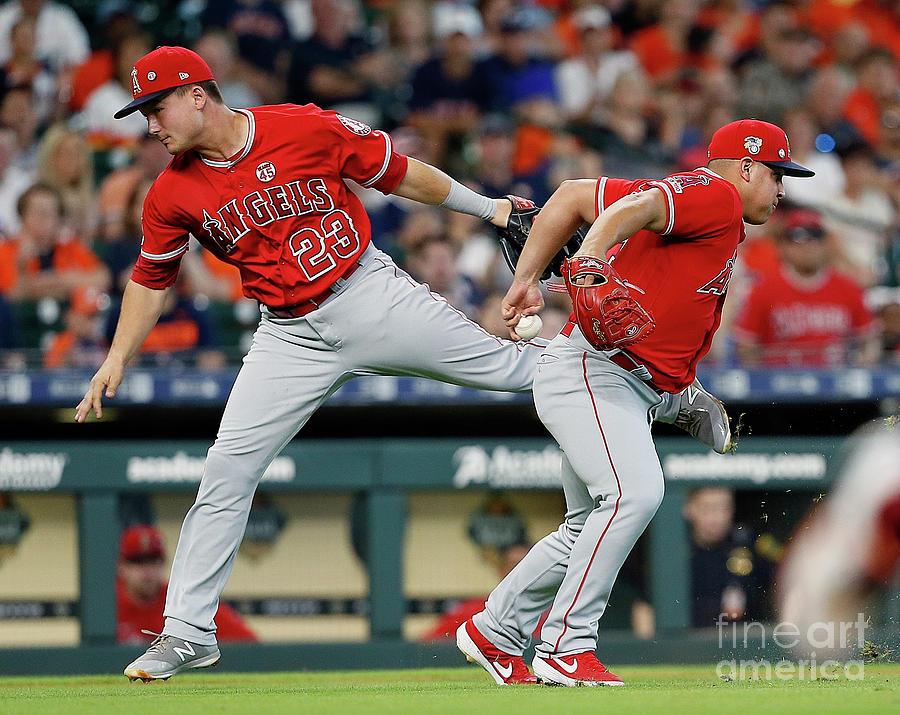 Los Angeles Angels Of Anaheim V Houston Photograph by Bob Levey