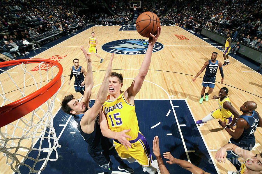 Los Angeles Lakers V Minnesota Photograph by David Sherman