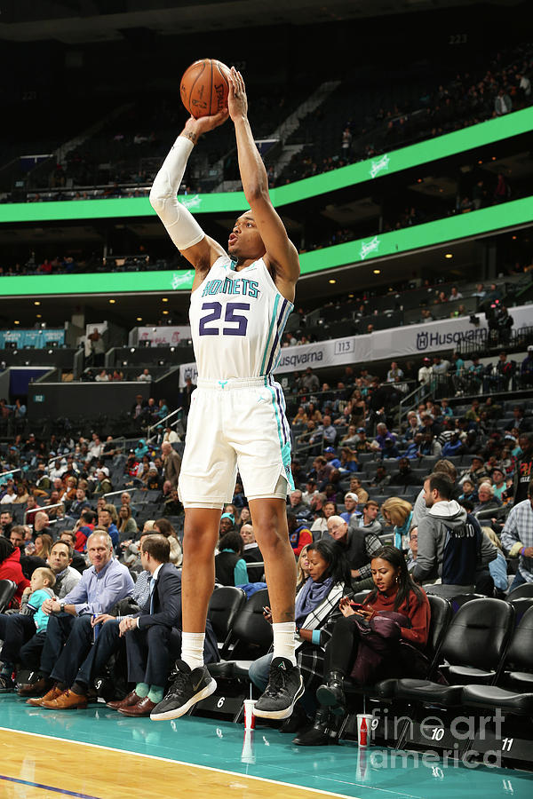 Memphis Grizzlies V Charlotte Hornets Photograph by Kent Smith