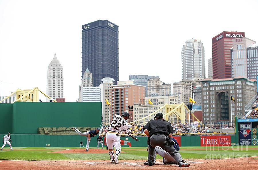 Milwaukee Brewers V Pittsburgh Pirates Photograph by Jared Wickerham