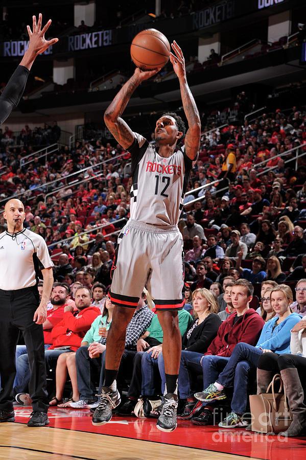 Minnesota Timberwolves V Houston Rockets Photograph by Bill Baptist
